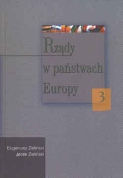 Okładka książki Rządy w państwach Europy 3