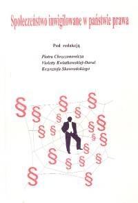 Okładka książki Społeczeństwo inwigilowane w państwie prawa