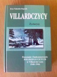 Okładka książki Villardczycy.  Życiorysy