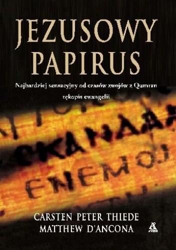 Okładka książki Jezusowy papirus