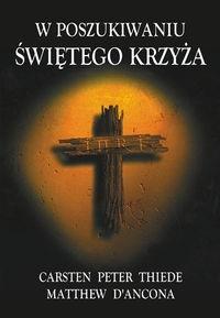 Okładka książki W poszukiwaniu świętego Krzyża