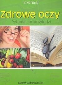 Okładka książki zdrowe oczy