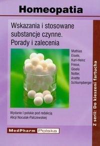 Okładka książki Homeopatia - Noculak - Palczewska Alicja (red.)