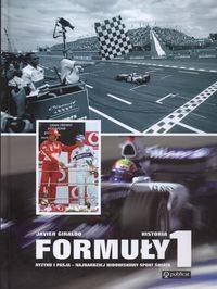 Okładka książki Historia formuły 1 - Giraldo Javier