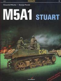 Okładka książki M5A1 Stuart