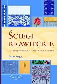 Okładka książki Ściegi krawieckie. Ilustrowany przewodnik po technikach szycia i tkaninach