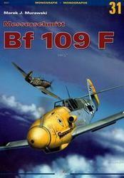 Okładka książki Messerschmitt Bf 109 F /Monografie