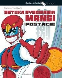 Okładka książki Sztuka rysowania mangi. Postacie