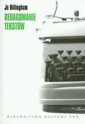 Okładka książki Redagowanie tekstów