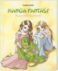 Okładka książki Manga fantasy. Rysowanie jest łatwe