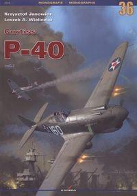 Okładka książki Curtiss P-40