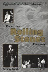 Okładka książki Rolling Stones Prawdziwe przygody