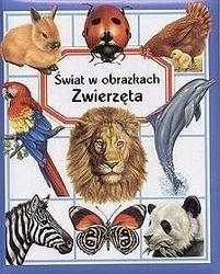 Okładka książki zwierzęta-świat w obrazkach
