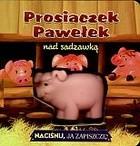Okładka książki Prosiaczek Pawełek nad sadzawką