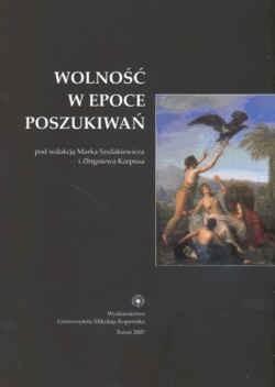 Okładka książki Wolność w epoce poszukiwań.