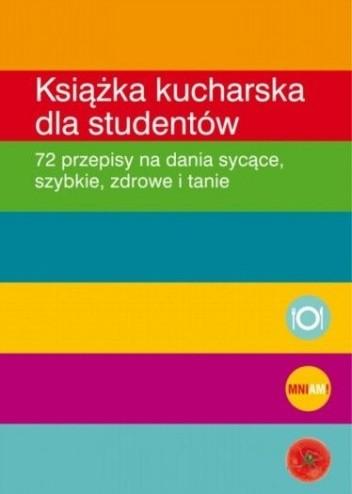 Okładka książki Książka kucharska dla studentów