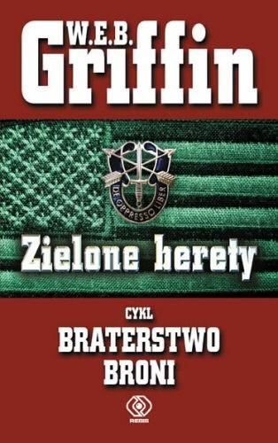 Okładka książki Zielone Berety