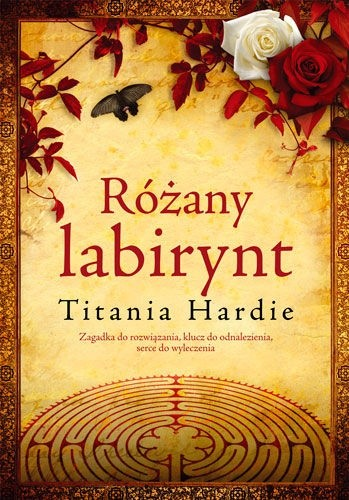 Okładka książki Różany labirynt