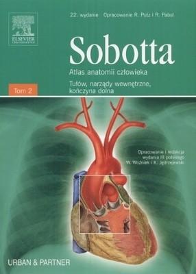Okładka książki Sobotta. Atlas anatomii człowieka. Tom 2