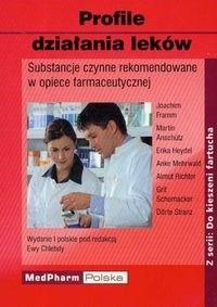 Okładka książki Profile działania leków