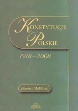 Okładka książki Konstytucje Polskie 1918 - 2008