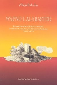 Okładka książki Wapno i alabaster