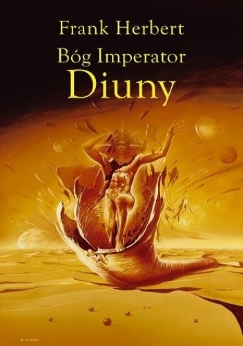 Okładka książki Bóg Imperator Diuny