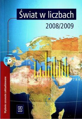 Okładka książki Świat w liczbach 2008/2009 +cd gratis