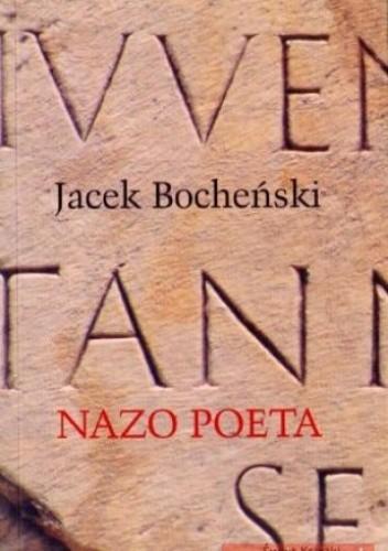 Okładka książki Nazo poeta. Trylogia rzymska. Tom 2