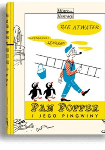 Okładka książki Pan Popper i jego pingwiny