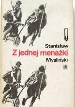 Okładka książki Z jednej menażki