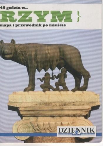 Okładka książki 48 godzin w... Rzym. Mapa i przewodnik po mieście