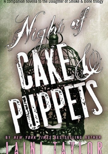 Okładka książki Night of Cake & Puppets