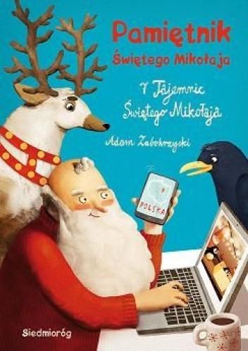 Okładka książki Pamiętnik Świętego Mikołaja. 7 tajemnic Świętego Mikołaja