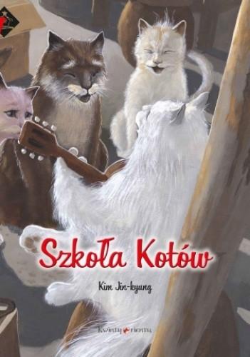 Okładka książki Szkoła Kotów. Tajemnica Kryształowej Groty