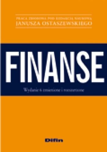 Okładka książki Finanse. Wydanie 6 zmienione i rozszerzone