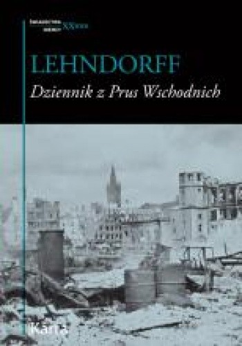Okładka książki Dziennik z Prus Wschodnich