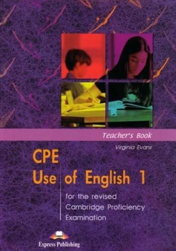 Okładka książki CPE Use of English 1