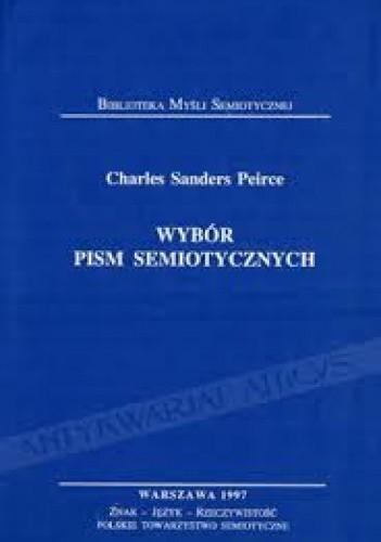 Okładka książki Wybór pism semiotycznych