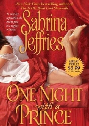 Okładka książki One Night with a Prince