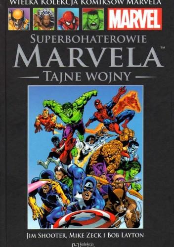 Okładka książki Superbohaterowie Marvela  Tajne Wojny ce227614f8