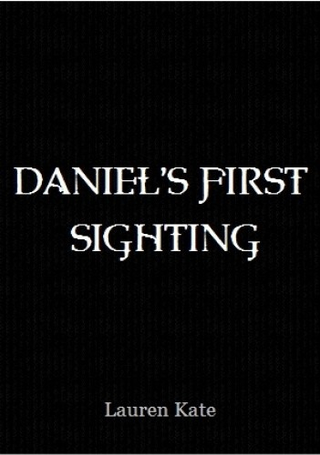 Okładka książki Daniel's First Sighting