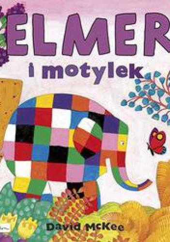 Okładka książki Elmer i motylek