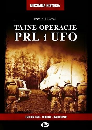 Okładka książki Tajne operacje PRL. i UFO