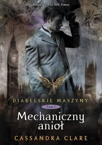 Okładka książki Mechaniczny anioł