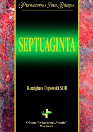 Okładka książki Septuaginta