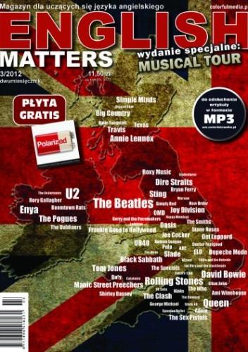 Okładka książki English Matters: Musical Tour, 3/2012 (Wydanie specjalne)