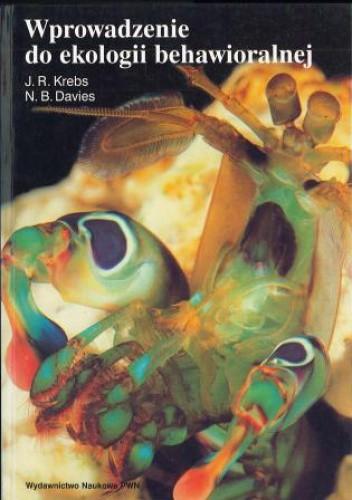 Okładka książki Wprowadzenie do ekologii behawioralnej