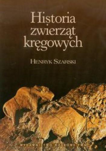 Okładka książki Historia zwierząt kręgowych