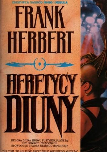 Okładka książki Heretycy Diuny